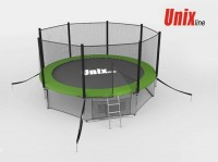 Батут UNIX Батут UNIX 10 FT OUTSIDE (GREEN) с сеткой
