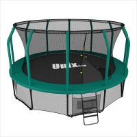 Батут UNIX Батут UNIX line 12 ft SUPREME (green) с сеткой